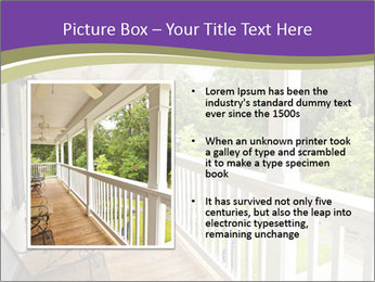 Porch PowerPoint Template - Slide 13
