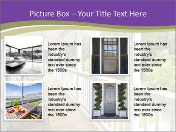 Porch PowerPoint Template - Slide 14