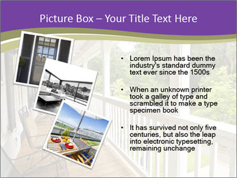 Porch PowerPoint Template - Slide 17