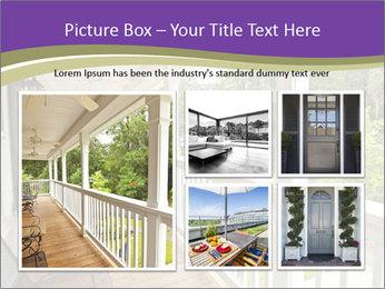 Porch PowerPoint Template - Slide 19