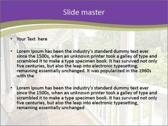 Porch PowerPoint Template - Slide 2