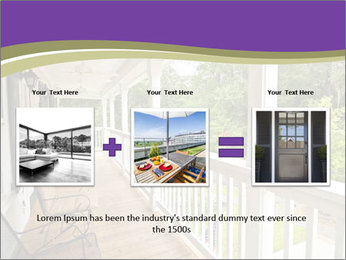 Porch PowerPoint Template - Slide 22