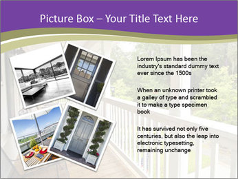 Porch PowerPoint Template - Slide 23