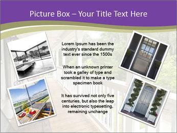 Porch PowerPoint Template - Slide 24