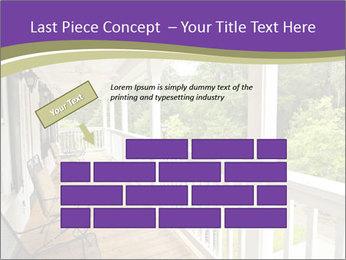 Porch PowerPoint Template - Slide 46