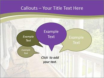 Porch PowerPoint Template - Slide 73