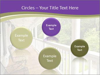 Porch PowerPoint Template - Slide 77