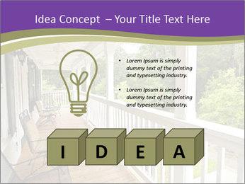 Porch PowerPoint Template - Slide 80