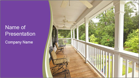 Porch PowerPoint Template