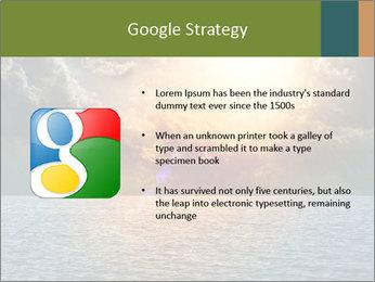 Yellow Sun Set PowerPoint Template - Slide 10