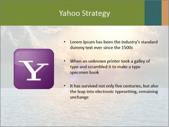 Yellow Sun Set PowerPoint Template - Slide 11