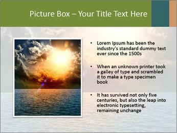 Yellow Sun Set PowerPoint Template - Slide 13