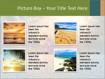 Yellow Sun Set PowerPoint Template - Slide 14