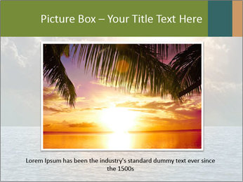 Yellow Sun Set PowerPoint Template - Slide 15