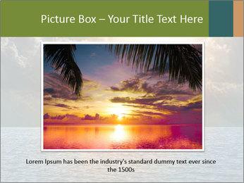 Yellow Sun Set PowerPoint Template - Slide 16