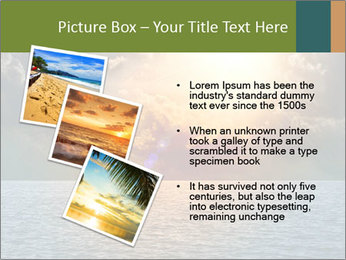 Yellow Sun Set PowerPoint Template - Slide 17