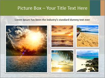 Yellow Sun Set PowerPoint Template - Slide 19
