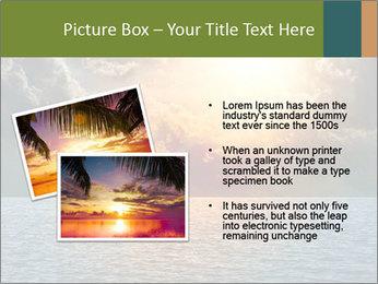 Yellow Sun Set PowerPoint Template - Slide 20