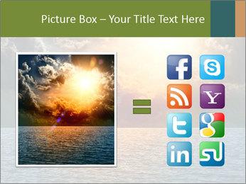 Yellow Sun Set PowerPoint Template - Slide 21