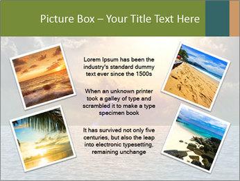 Yellow Sun Set PowerPoint Template - Slide 24