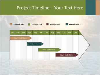 Yellow Sun Set PowerPoint Template - Slide 25