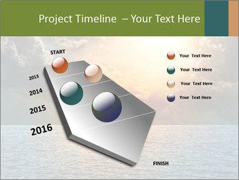 Yellow Sun Set PowerPoint Template - Slide 26