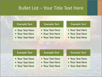 Yellow Sun Set PowerPoint Template - Slide 56