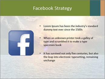 Yellow Sun Set PowerPoint Template - Slide 6