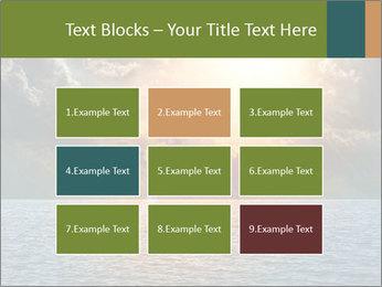 Yellow Sun Set PowerPoint Template - Slide 68