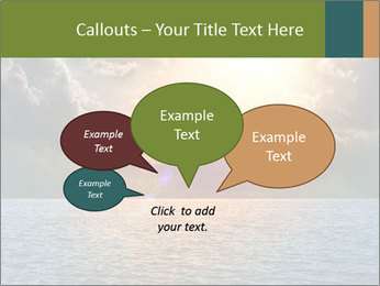 Yellow Sun Set PowerPoint Template - Slide 73