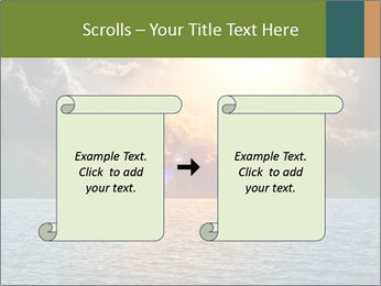 Yellow Sun Set PowerPoint Template - Slide 74