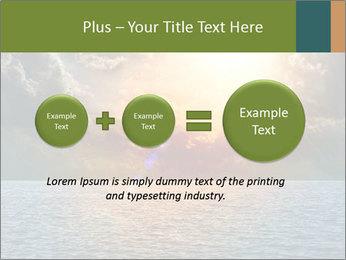 Yellow Sun Set PowerPoint Template - Slide 75