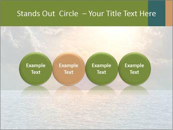 Yellow Sun Set PowerPoint Template - Slide 76