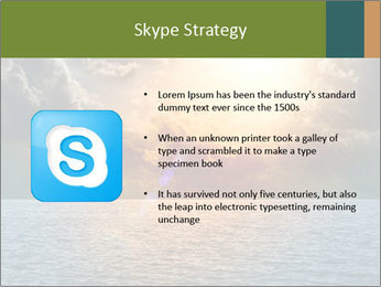 Yellow Sun Set PowerPoint Template - Slide 8