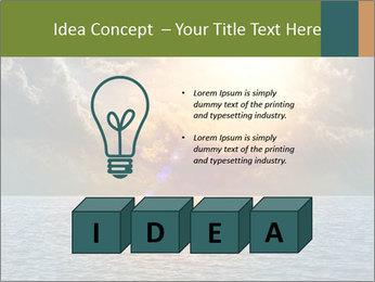 Yellow Sun Set PowerPoint Template - Slide 80