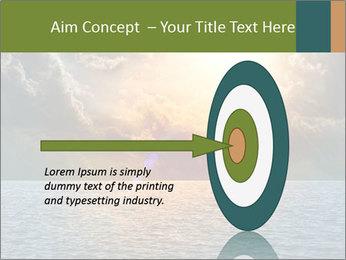 Yellow Sun Set PowerPoint Template - Slide 83