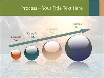 Yellow Sun Set PowerPoint Template - Slide 87