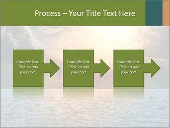 Yellow Sun Set PowerPoint Template - Slide 88