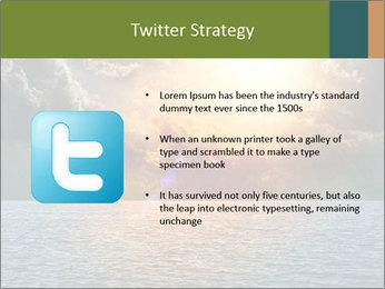 Yellow Sun Set PowerPoint Template - Slide 9