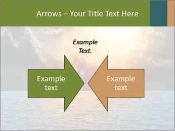 Yellow Sun Set PowerPoint Template - Slide 90