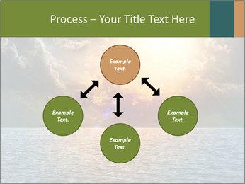 Yellow Sun Set PowerPoint Template - Slide 91