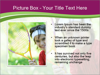 Kid playing PowerPoint Template - Slide 13
