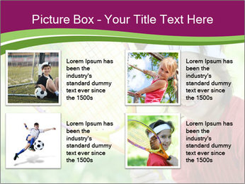 Kid playing PowerPoint Template - Slide 14