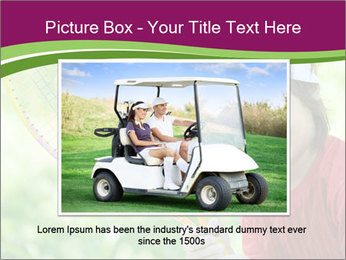 Kid playing PowerPoint Template - Slide 15