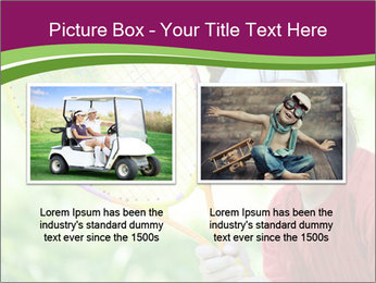 Kid playing PowerPoint Templates - Slide 18