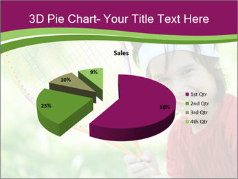 Kid playing PowerPoint Templates - Slide 35