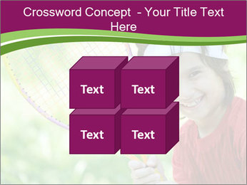 Kid playing PowerPoint Template - Slide 39
