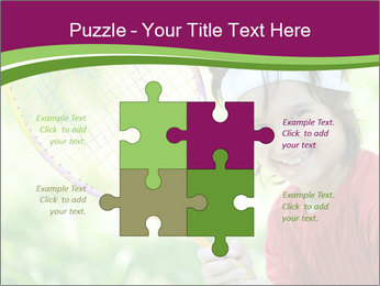 Kid playing PowerPoint Templates - Slide 43