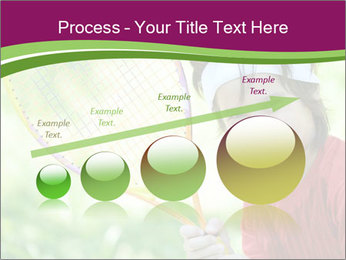 Kid playing PowerPoint Templates - Slide 87