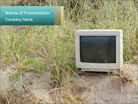 Computer screen PowerPoint Template